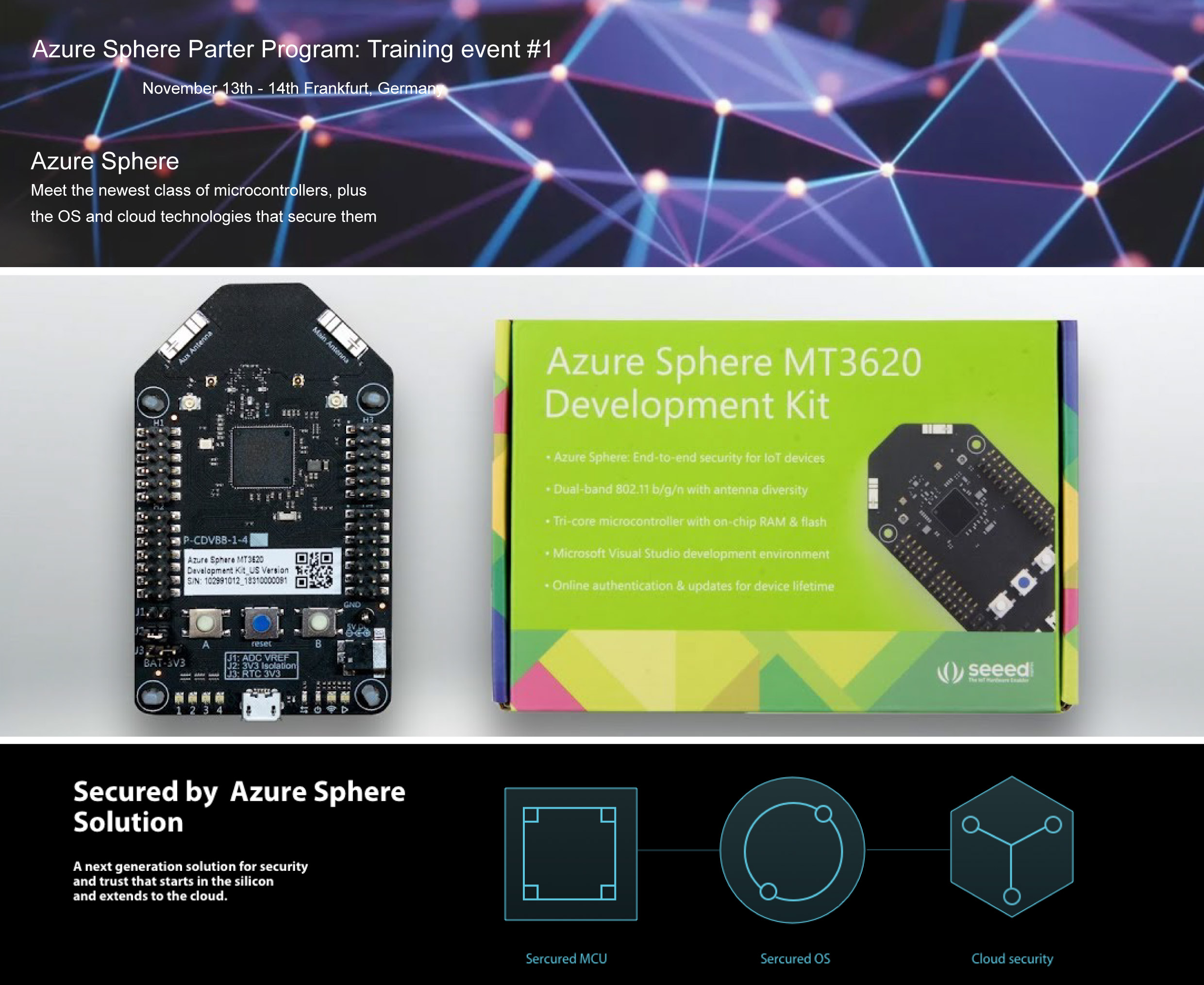 MAC AND THE AZURE SPHERE PARTNER PROGRAM